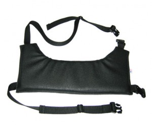 Strap-On Shoulder Pad for Camera Operators